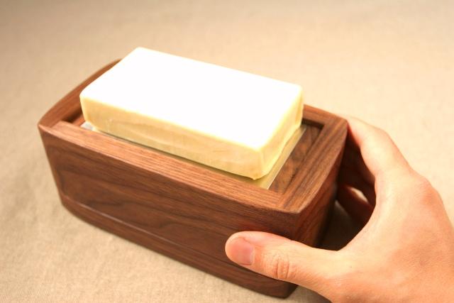 バターがポップアップする
